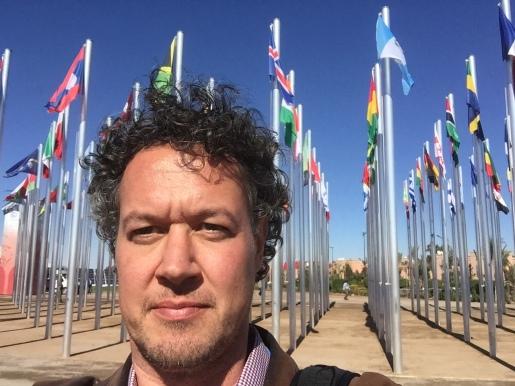 selfie at COP22