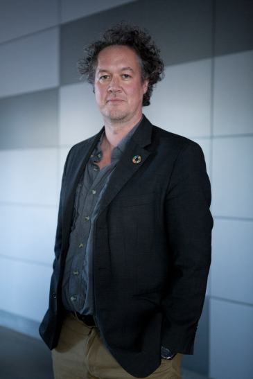 Prof Andy Lowe, Scientist in Residence with the Australian Finacial Review, image credit Ryan Stuart/Fairfax Media